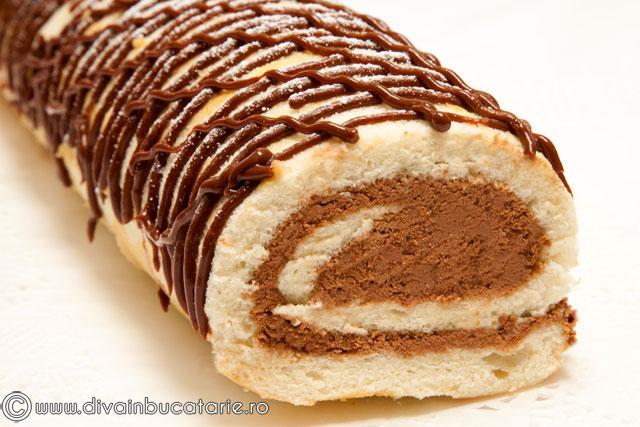 rulada-cu-crema-ciocolata