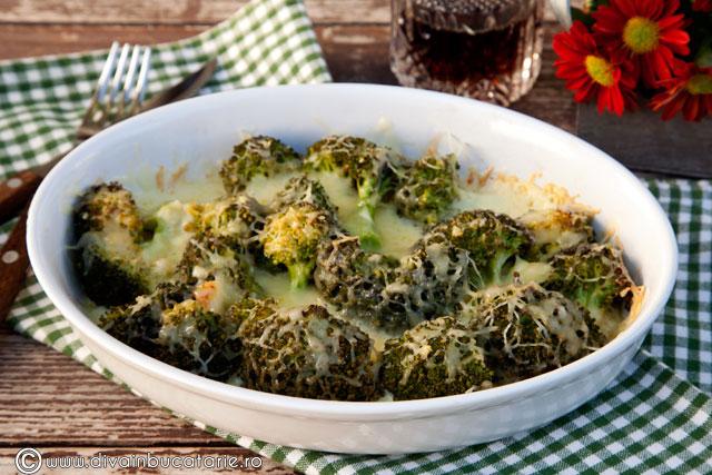 broccoli-cu-usturoi-gratinat