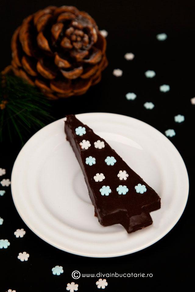 prajitura-bradut-de-ciocolata