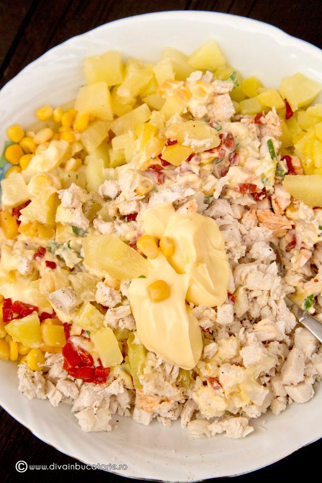 salata-de-pui-cu-ananas-si-porumb-2
